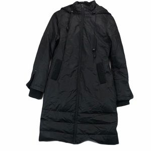 Soia & Kyo Long Black Down Puffer Coat